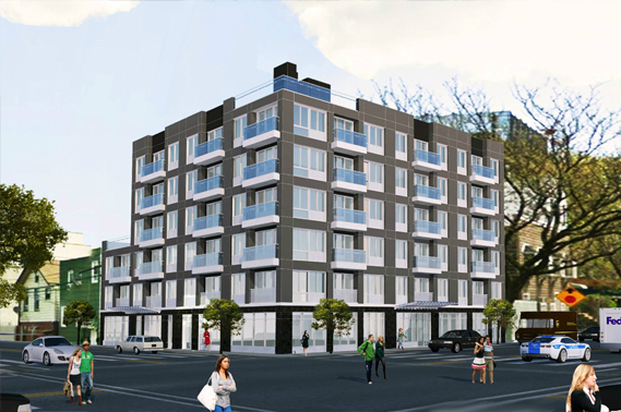 <h5/>41th Avenue, Long Island City (Queens)A 44-unit residential building in the heart of Long Island City.  Includes 5 commercial units and 22 parking spaces.