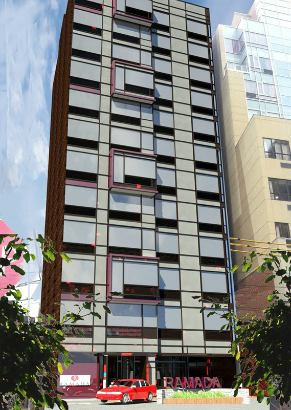 <h5/>Prince Street, Flushing (Queens)A Ramada branded, 12-story, 84-key hotel located in prime Downtown Flushing, Queens.